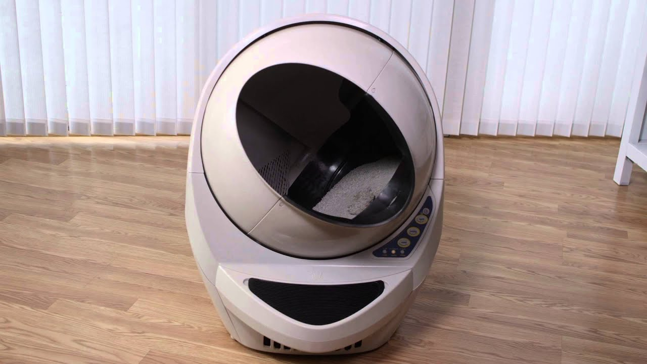 Litter Robot Open Air Youtube
