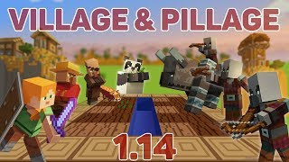 Minecraft 1.14 - VILLAGE & PILLAGE UPDATE [CZ/SK]