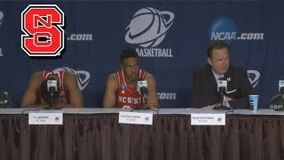 NC State Talks Heartbreaking Loss to St. Louis in OT | 2014 NCAA Tournament