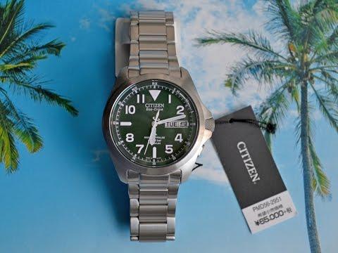 Обзор японских часов Citizen Promaster PMD56-2951 / Синхронизация
