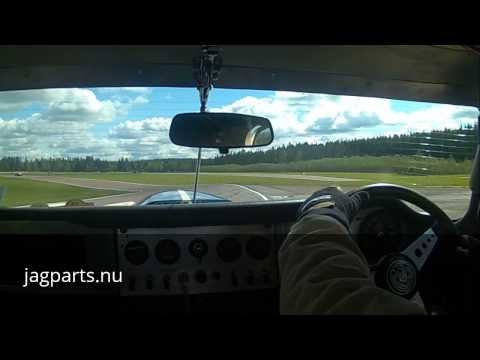 Velodromloppet 2015 - Johan Solman, Jaguar E-Type