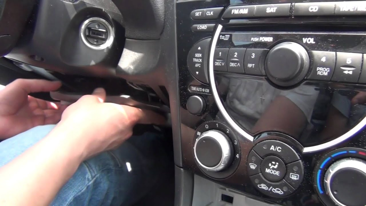GTA Car Kits - Mazda RX-8 2004, 2005, 2006, 2007, 2008 install of iPhone, iPod, iPad and AUX ...