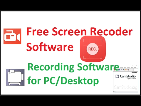 Best Free Screen recorder Software for Desktop in windows 8 in Hindi /Urdu  || Record Screen Software