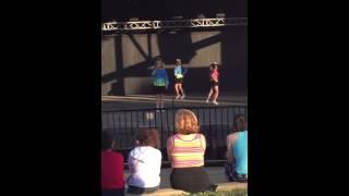 Raquel singing With Dancensation ShowBiz Kids