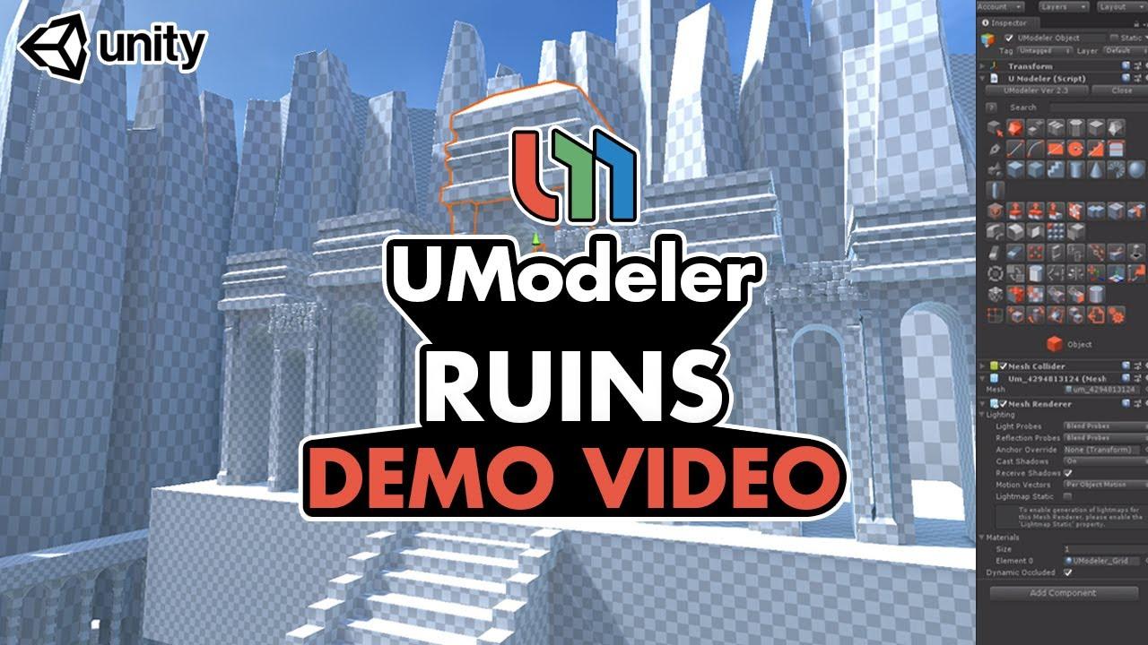 Ruins - UModeler Demo Reel