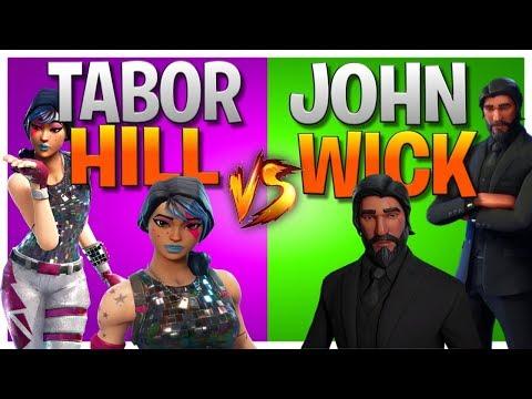 Fortnite Battle Royale - When You Shoot A John Wick Once (I hate John Wick)