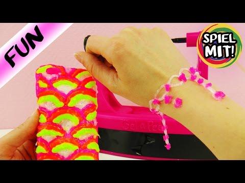 Gel a Peel deutsch DIYARMBAND selber machen| Neon Set im Test | Demo Spiel mit mir Kinderspielzeug