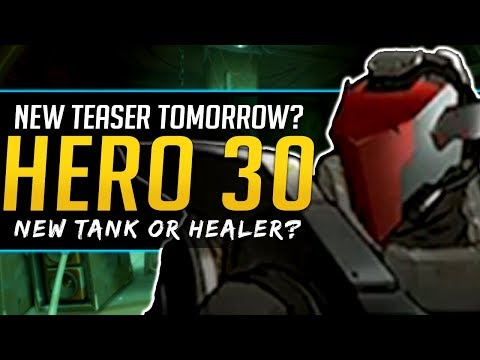 Overwatch Hero 30 Teaser Tomorrow? Release Date and likely Role