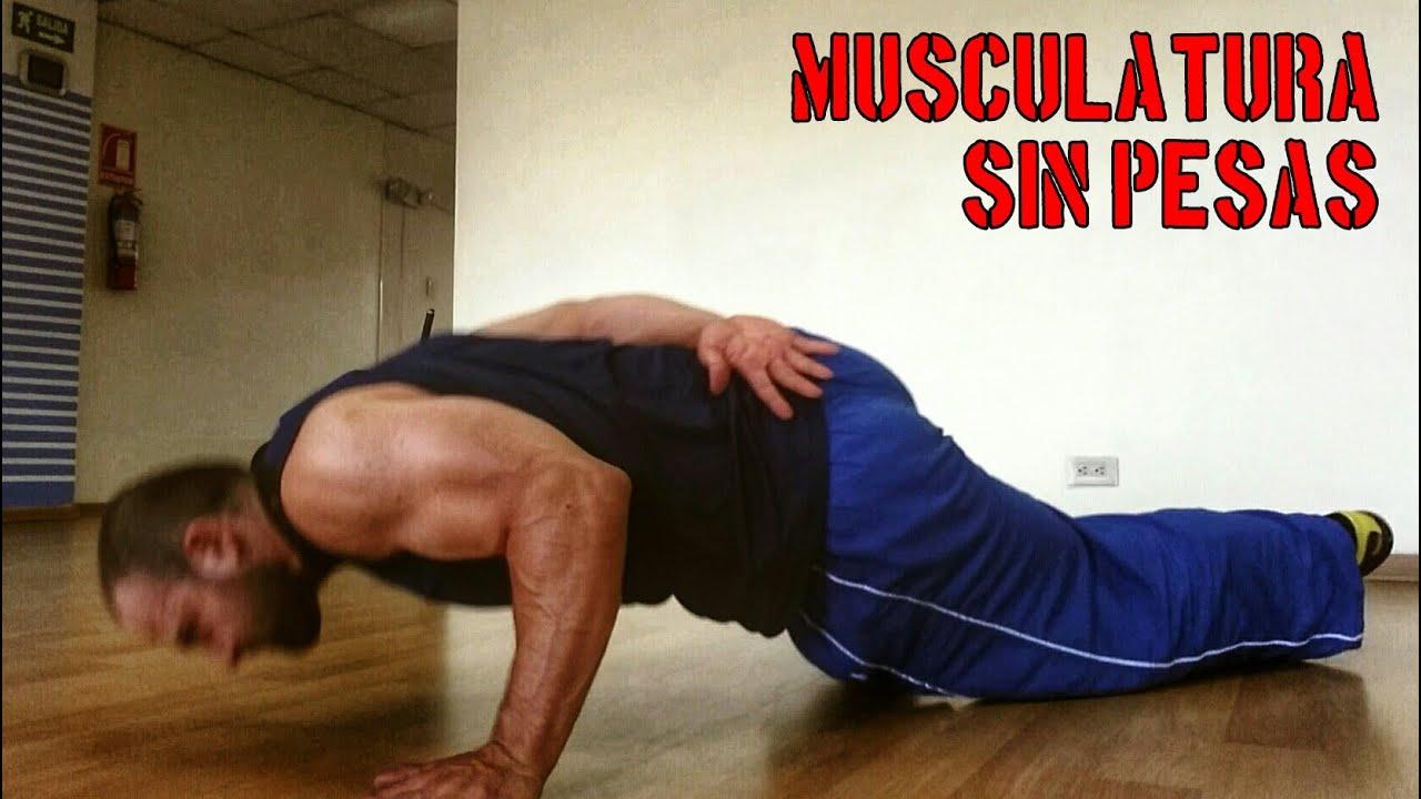 como aumentar masa muscular haciendo ejercicio en casa
