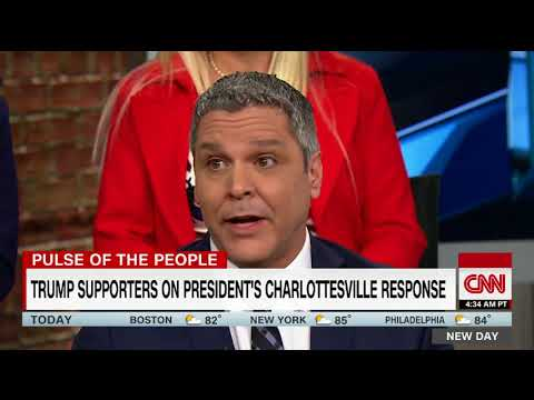 Thumbnail: Trump voters hit out at media, say Charlottesville was a setup