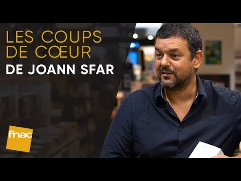 Les coups de cœur de Joann Sfar