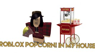 I HAVE A POPCORN MACHINE IN MY HOUSE NOW!-Roblox Meepcity