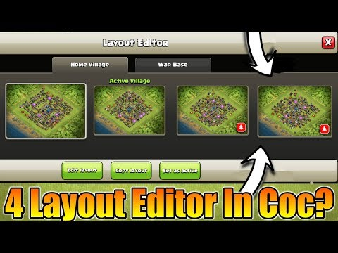 4 Layout Editor In Coc? | Clan Name Change Update? | Coc FAQ In Japan