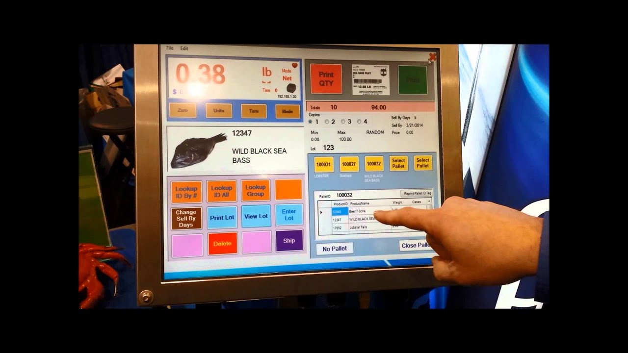 PPS LTE Scale Labeling Meat Processing System