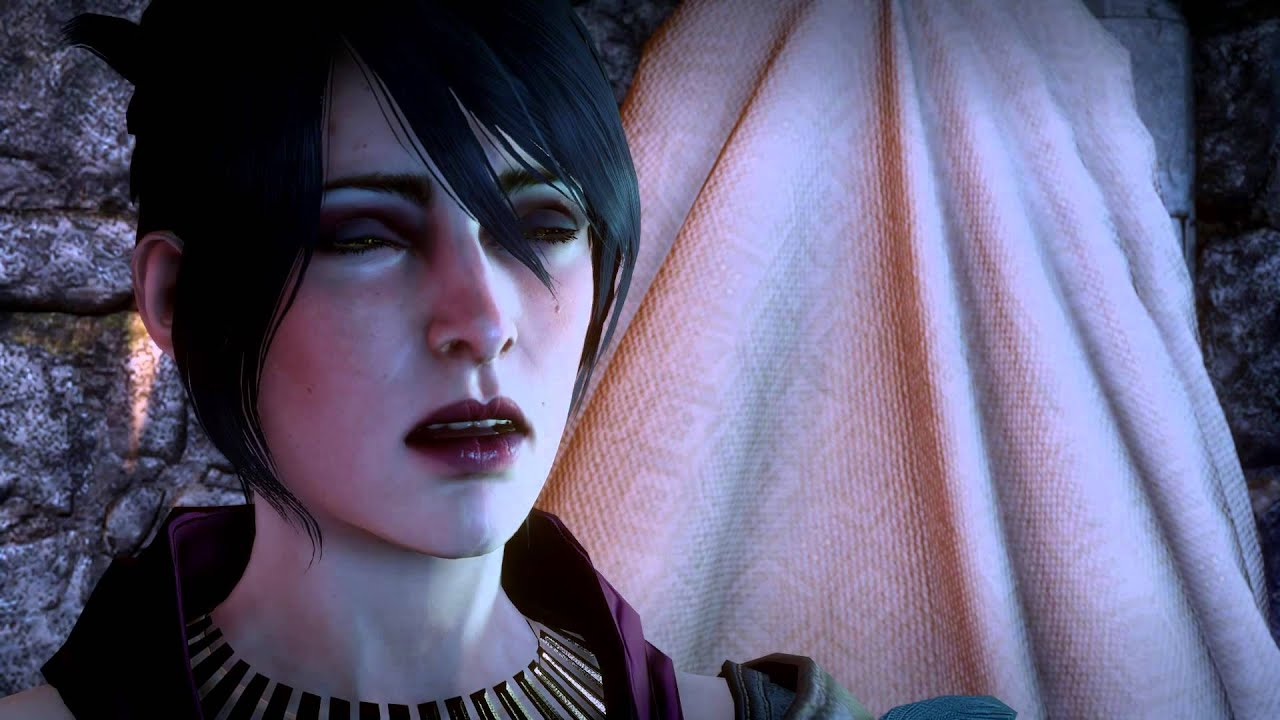 Dragon Age Inquisition Morrigan And Her Son Back From Fade Youtube