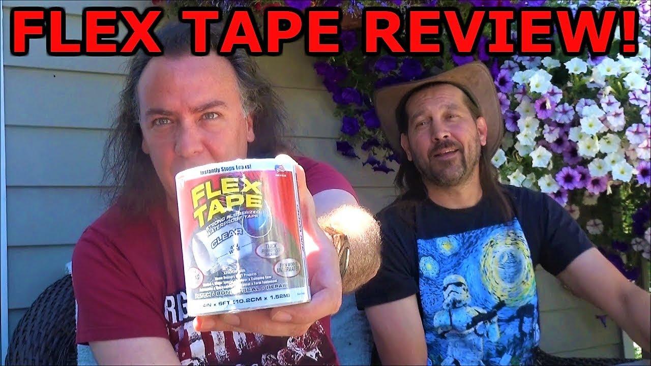 Flex Tape Rubberized Waterproof Tape! | As Seen on TV! | A Closer Look