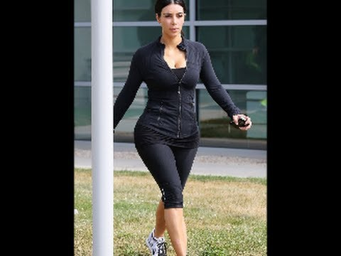Kim Kardashian Joins Sisters Khloe And Kourtney And Mom Kris For Butt Busting Workout In The Hampton