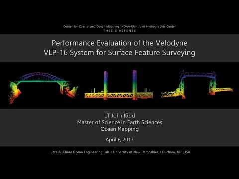 Performance Evaluation of the Velodyne VLP-16 System for Sur
