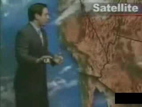 Weatherman Goes Diarrhea On Air