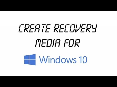 how to create system repair disk windows 10