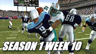 A PHYSICAL GAME - MADDEN 04 DOLPHINS FRANCHISE VS TITANSS1W10