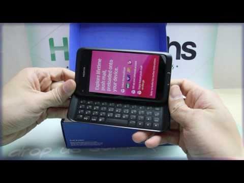 Nokia E7: Unboxing