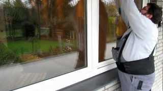 Einbruch Fenster  In 30 Sekunden aufgebrochen, ohne große Übung!