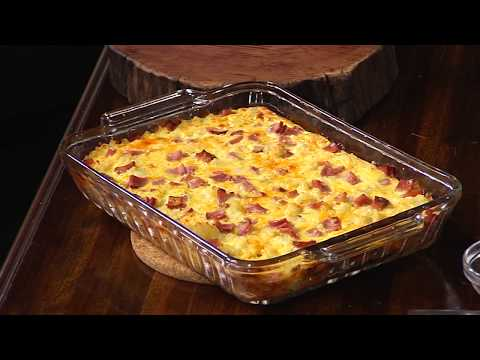Easy Breakfast Casserole With Kentucky Legend