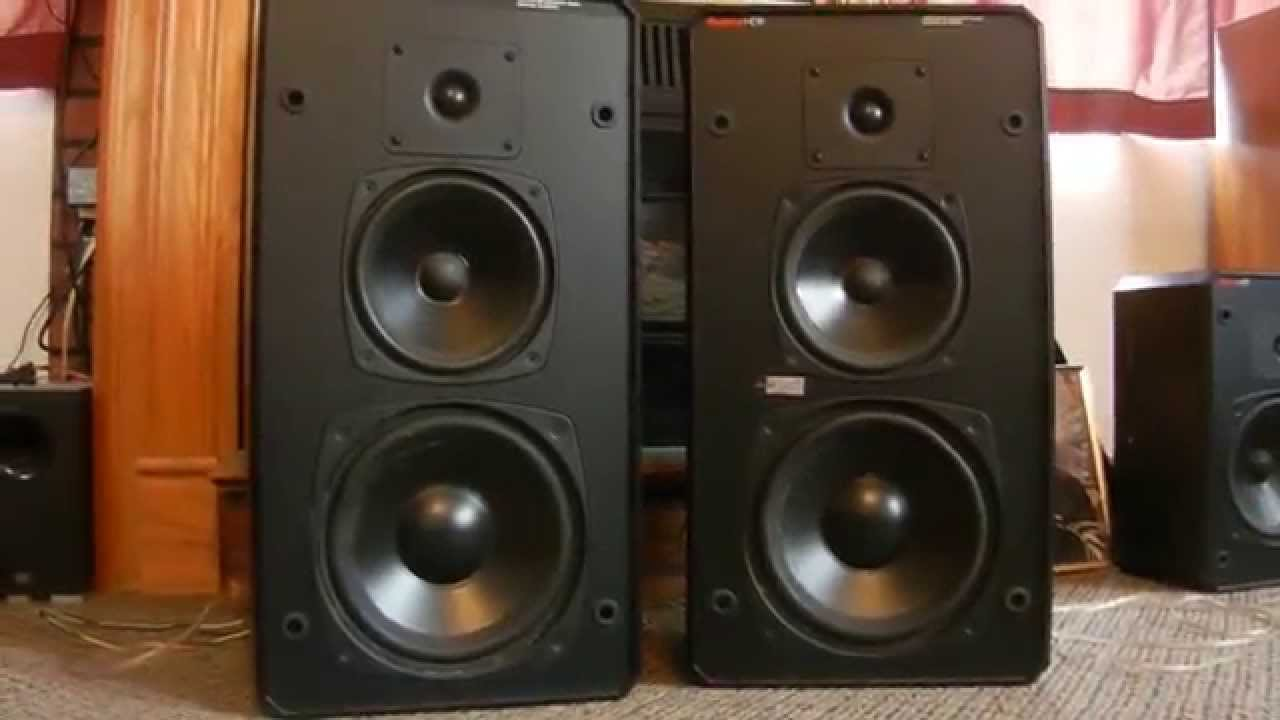 Boston Acoustic Hd 9 High Quality Loud Speakers Youtube