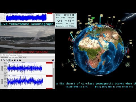 Live EarthQuake Watch.. Worldwide EarthQuake Data  EQ3d