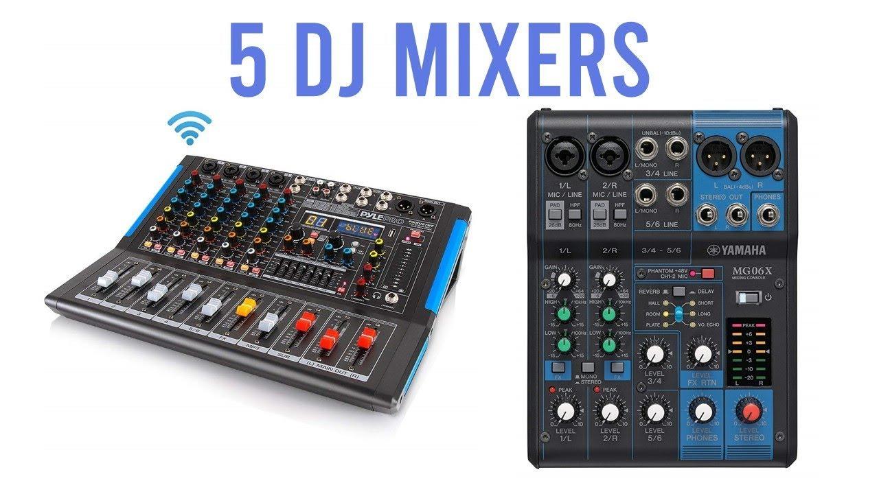 Top 5 Best DJ Mixers 2019 : DJ Mixers Reviews