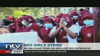 Eldoret: Moi Girls School closed indefinitely following student unrest