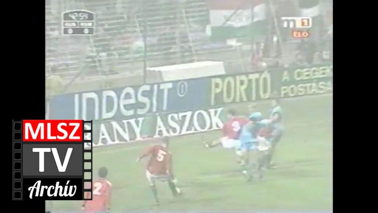 Magyarország-San Marino | 3-0 | 2002. 10. 16 | MLSZ TV Archív