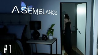 "Asemblance - Mind-Bending Thriller,  ""Bad"" Ending (PS4 Gameplay / Walkthrough)"