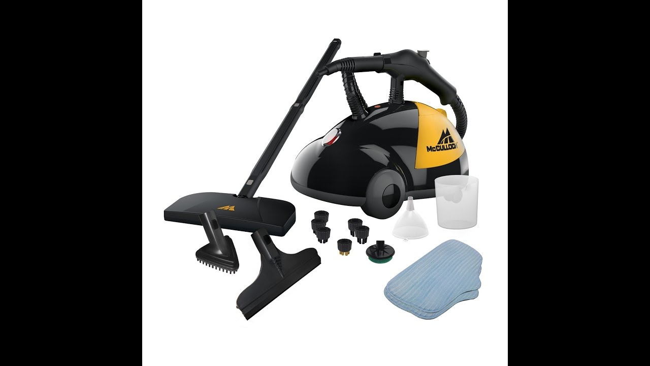 Review Mcculloch Mc1275 Heavy Duty Steam Cleaner Youtube