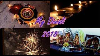 My Diwali 2018 | Rangoli | Decoration | Poojan | Madhaniyan by Hari & Sukhmani