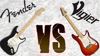 Fender Stratocaster VS Vigier Expert - David Gilmour style solo
