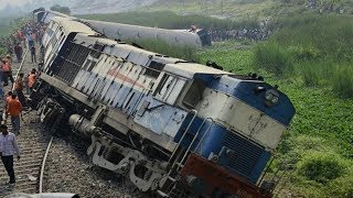 Train Accident :-Kaifiyat Express derailment:8 coaches skid  near Kanpur on Delhi-Howrah route