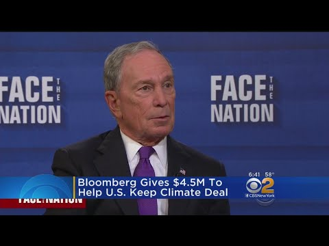Bloomberg Does His Part For The Environment