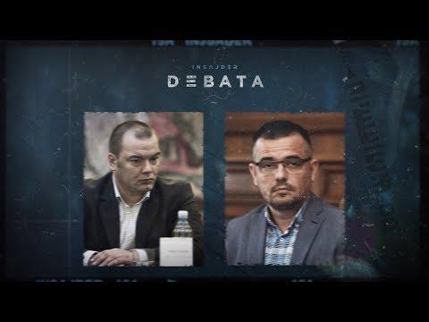 Druga emisija Insajder debate: Nedimović i Ješić