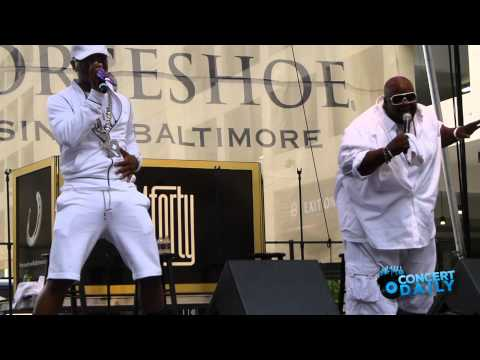 Dru Hill performs Never Make A Promise  at Baltimore Horseshoe Casino