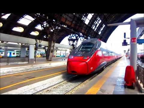 Nuovo Pendolino Italo EVO a Milano Centrale (ETR 675) Partenza & Arrivo