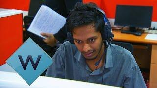 Staff Take A Mock Call Centre Test | Nev