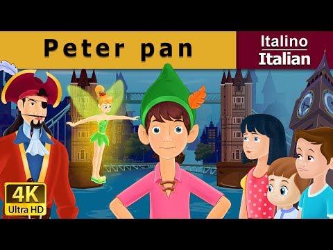 Peter Pan in Italian | Storie Per Bambini | Favole Per Bambini | Fiabe Italiane