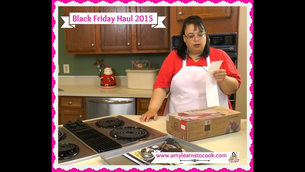 Amy's Black Friday Cookware & Kitchen Haul 2015 - KitchenAid Mixer ...