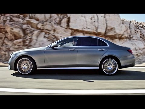 NEW 2017 Mercedes E Class Official Trailer