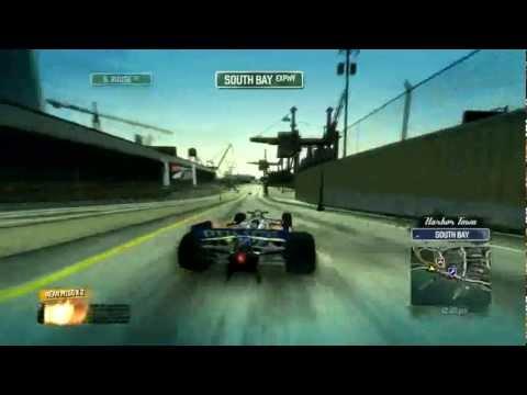 Burnout Paradise Ultimate Box Formula F1 Super Speed Shortcut Run....