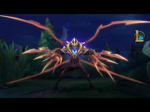 Крушите целые миры | Трейлер легендарного образа Губителя галактики Зеда – League of Legends
