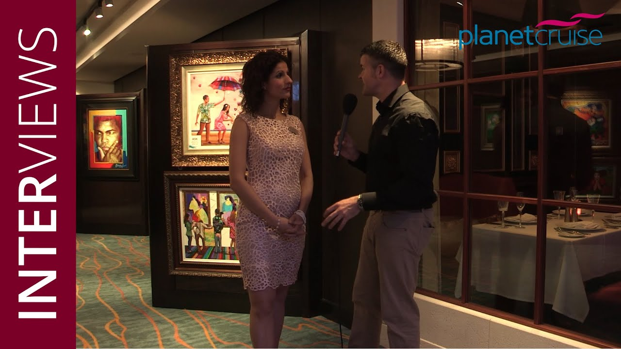 Keith Maynard Interviews Julie Valeriote Cruise Director Norwegian Escape Ncl Planet Cruise