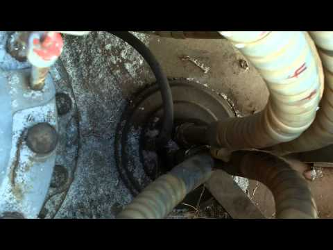 How it works The track motor spool in an Excavator - YouTube